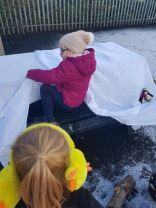 Outdoor Learning in the snow