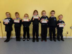 100% Attendance for January!