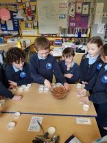 Making buns in Primary 3 & 4