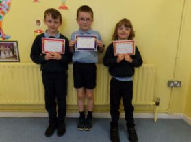 Pupils of the week