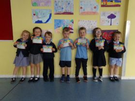 100% Attendance for May!