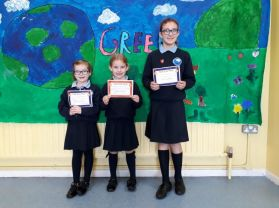Pupils of the week and amazing attenders!