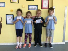 100% Attendance in May